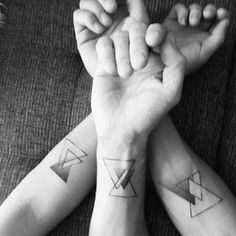 Matching Sibling Tattoos For Brothers & Sisters Meaningful Symbols & Designs