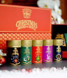 TWG Tea Christmas Around the World Tea Set. Shop Holiday Gift Set for all Tea Lovers.