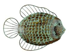 Gardman 8421 Fish Wall Art by Gardman. $17.95. Brass verdigris effect. Great indoor/outdoor. Hand cut fish scale for an attractive and stylish design. A high quality work with each fish scale hand cut and applied, finished in a brass verdigris effect. Looks great in the home or garden.