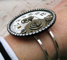 Steampunk JEWELRY | Steampunk Jewelry Bracelet Antique Cuff by ... | Steampunk!!!