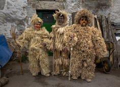 Máscaras de la fiesta de La Vijanera, Molledo, Cantabria 2014