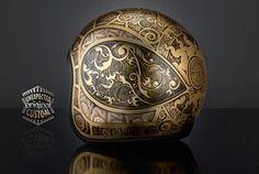 custom helmet jugenstil