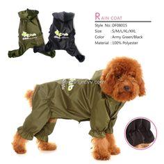 Dog Raincoat DF08015