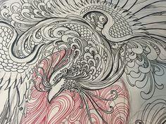 Japanese Phoenix Tattoo, Abstract, Tattoos, Artwork, Tatuajes, Summary, Work Of Art, Auguste Rodin Artwork, Tattoo