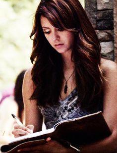 Dear Diary , I am Elena Gilbert ...