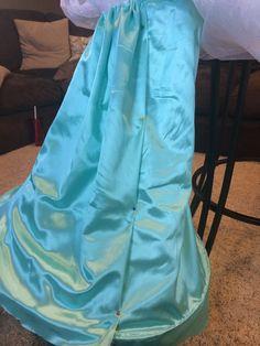 Elsa costume in the making