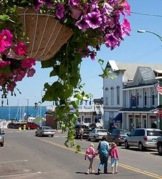 Charming town of Bayfield, Wisconsin.