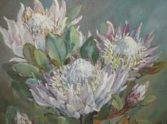 Ideas Succulent Drawing Simple Artichokes For 2019 Protea Art, Protea Flower, Succulents Drawing, Succulent Wall Art, Lovers Art, Art Pictures, New Art, Art Drawings, Canvas Art
