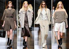 Botines cortos combinados con tonos grises y paletas de color invernal. fall 2015/ trends