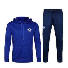 Ligue des Champions Survetement de foot Chelsea bleu 2016 2017