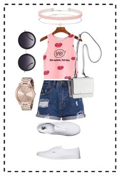 """""""Summer Time"""" by jenimarrivera on Polyvore featuring Vans, Kendall + Kylie, Alice + Olivia and Miss Selfridge"""