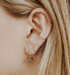 The 50 most unique multiple ear piercing ideas | Stylist