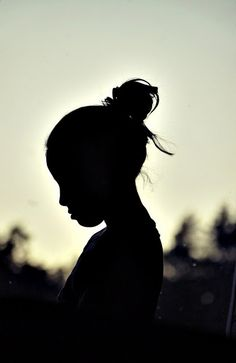 Silhouette - good approach for camera shy subjects and for simplistic shots with character