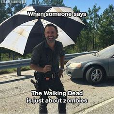 "284 Likes, 6 Comments - ⇨ We are The Walking Dead|2,8k (@twd.squad_) on Instagram: ""Hahaha you dumbass - - - Cr: @atlantasurvivor…"""