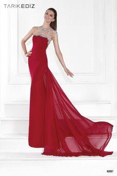 Tarık Ediz Kırmızı Elbise Modelleri