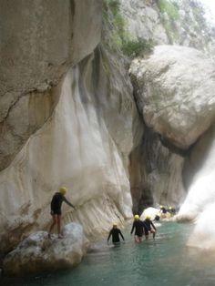 The canyon in Göynük