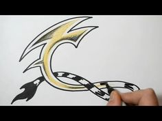 How to Draw Wild Graffiti Letters - C