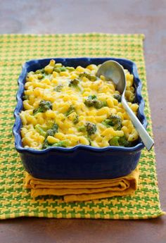 Broc, Mac Cheese: Make dinner an easy and crowd-pleasing one-pot wonder with this versatile creamy dish. [Sponsored by Hidden Valley®] Thanksgiving Recipes, Fall Recipes, Holiday Recipes, Great Recipes, Favorite Recipes, Mac Cheese Recipes, Mac And Cheese, Pasta Recipes, Pasta Dishes