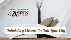 The professional upholstery cleaners at Aspen Roto Clean serve clients in Salt Lake City, UT. The technicians use modern equipment to get rid of tough dirt and grime from all types of upholstery. They also offer cleaning service for carpets, rugs and floors. To know more about upholstery cleaners in Salt Lake City, visit : http://aspenrotoclean.com/