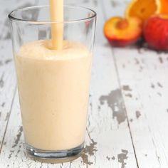 Peach & Orange Cream Protein Smoothie Recipe by Tasty