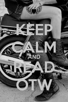 KEEP CALM AND READ OTW