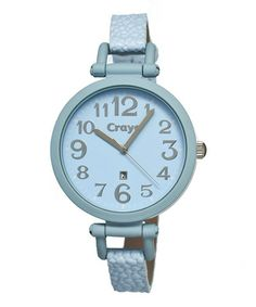 Take a look at this Powder Blue Balloon Watch - Men & Women by CRAYO on #zulily today!