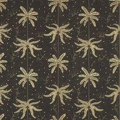 The wonderful Mauritz wallpaper is designed by Karolina Kroon for Sandberg Tyg