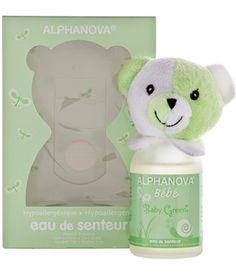 Alphanova Parfum bébé Baby Green filles et garçons 100ml