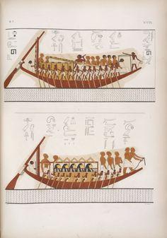 monumenti dell'Egitto e della Nubia disegnati dalla spedizione scientifico-letteraria toscana in Egitto distribuiti in ordine di materie interpretati ed illustrati dal dottore Ippolito Rosellini.  1832 (Egyptian)