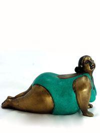Yoga Fanatics bronze statuettes $79