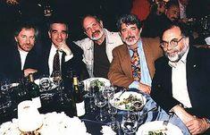 Steven Spielberg, Martin Scorsese, Brian De Palma, George Lucas and Francis Ford Coppola