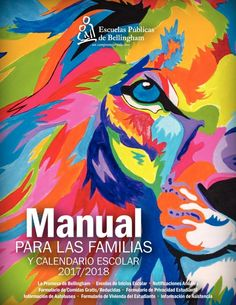 Illustrated calendar | Manual Para Las Familias 2017-18 by Communications