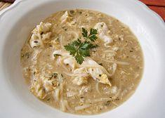 Zasmažená kmínová polévka recept - TopRecepty.cz Thai Red Curry, Feta, Risotto, Mashed Potatoes, Food And Drink, Soup, Ethnic Recipes, Whipped Potatoes, Smash Potatoes