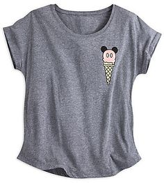 Disney Mickey Mouse Ice Cream Cone Tee