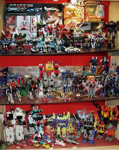 Transformers Collection Display