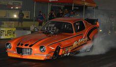 McAttack Camaro nitro funny car