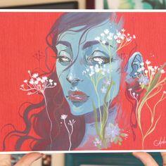 """scarlet"" [limited] print - m"