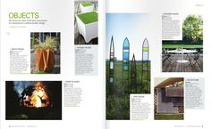 Appearance in Garden Design Journal | Hand Made Home and Garden Flower pots and Coffee Tables by Adam Christopher | adamchristopherdesign.co.uk