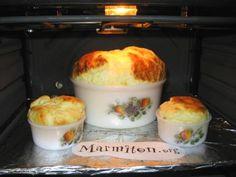 Soufflé jambon fromage - Recette de cuisine Marmiton : une recette
