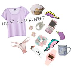 Hehe night night by c-r-a-z-e-d on Polyvore