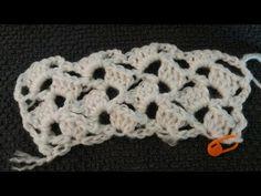 Ταξιδιάρα Ψυχή!!!: Shell Stitch Scarf - Crochet (Iroukos Rocker) LIVE...
