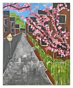 If you are expecting it to be new in the box, never touched by life or human hands, it is not for you. Architectural Painting, Cubist Paintings, Naive, Folk Art, Floral Prints, Fair Grounds, The Originals, Architecture, Street