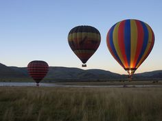 Hot Air Balloon safaris, África do Sul