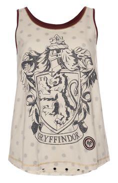 Harry Potter Gryffindor PJ Vest