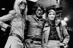 Betty Catroux, Yves St. Laurent and Loulou de la Falaise