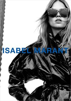 Isabel Marant gets inspired by the 90s for its movement-infused Fall campaign. #IsabelMarant #IsabelMarantFW21 Black N White Images, Black And White, Anna Ewers, French Brands, Advertising Campaign, Studio Portraits, Isabel Marant, Supermodels, Fall Winter