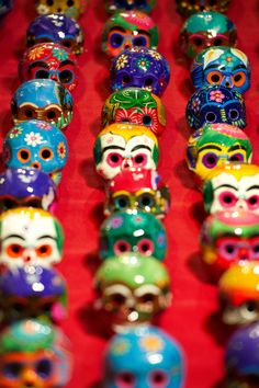 dia de los muertos skulls (time to start thinking about my annual DDLM art project)