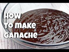 How to Make Ganache || Gretchen's Bakery - YouTube