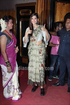 Sonam Kapoor at Kashish Film Festival 2016. #Bollywood #Fashion #Style #Beauty #Hot #Sexy