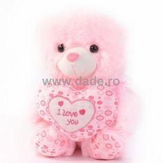 Ursulet de plus pinky D-21-big Teddy Bear, Toys, Animals, Activity Toys, Animales, Animaux, Clearance Toys, Teddy Bears, Animal